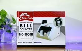 """Trên tay máy đếm tiền Silicon MC-9900N """"bắt"""" được tiền siêu giả"""