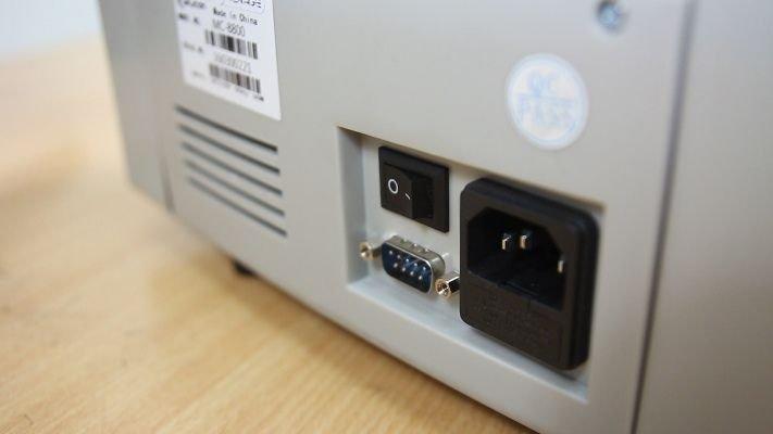 Máy đếm tiền thông minh phát hiện tiền siêu giả Silicon MC-8600