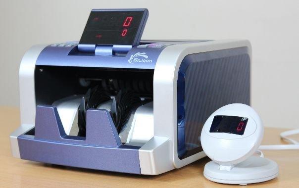 Máy đếm tiền thế hệ mới Silicon MC-2300